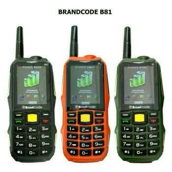 harga Hp brandcode b81 // hp powerbank 10000mah // hp outdoor Tokopedia.com