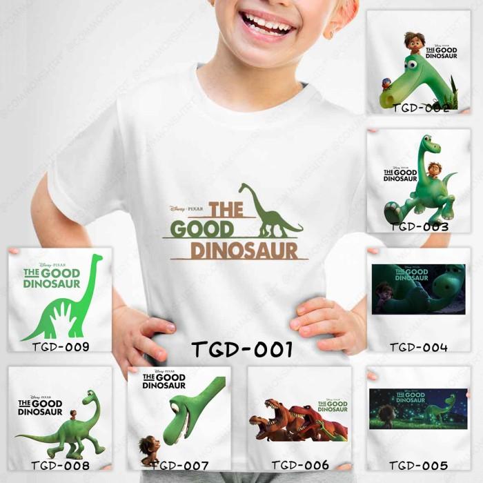 harga Kaos baju pakaian anak the good dinosaurus family pria wanita distro Tokopedia.com