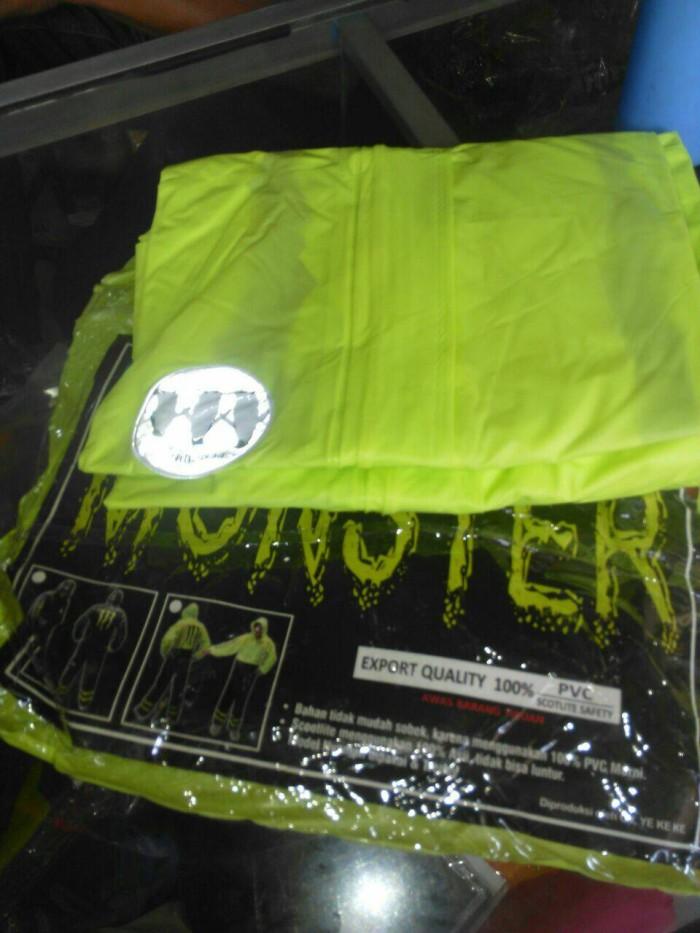 Foto Produk jas hujan monster energi transparan dari zahwaherbal