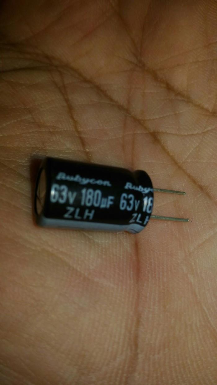 Jual Elko Elco Kapasitor Capasitor 180uf 63v Rubycon Zlh Airi Audio