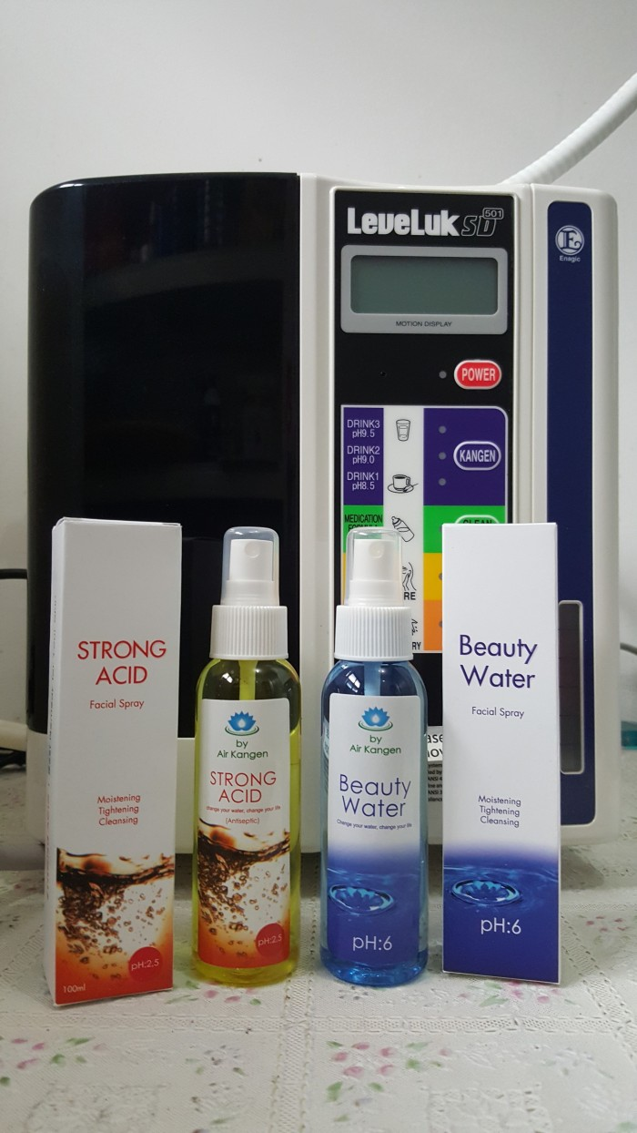 Jual Paket Beauty Water Dan Strong Acid 100 Ml By Kangen