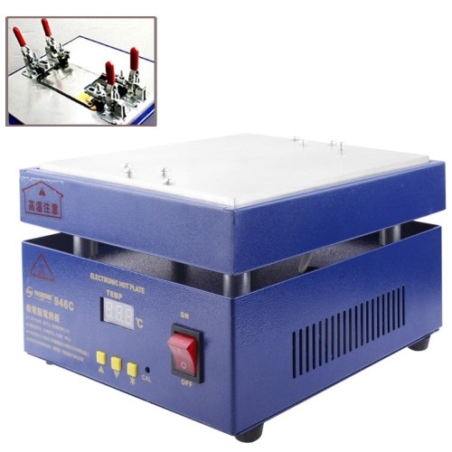 harga Touch screen panel lcd separator glue disassemble machine - biru Tokopedia.com