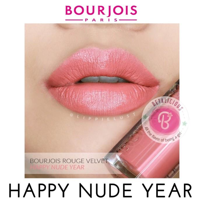 harga Bourjois rouge edition velvet in happy nude year (09) Tokopedia.com
