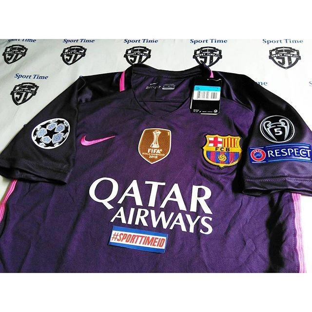 f9289770a Jual Jersey Barcelona   Barca Away + patch UCL FULL + WCC - Kota ...