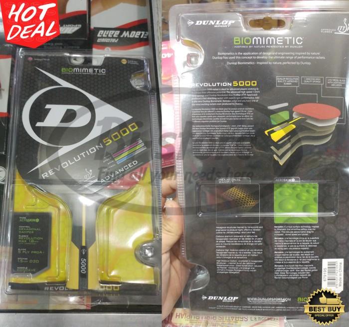 harga Bat Pingpong Tenis Meja Dunlop Revolution 5000 Original Tokopedia.com