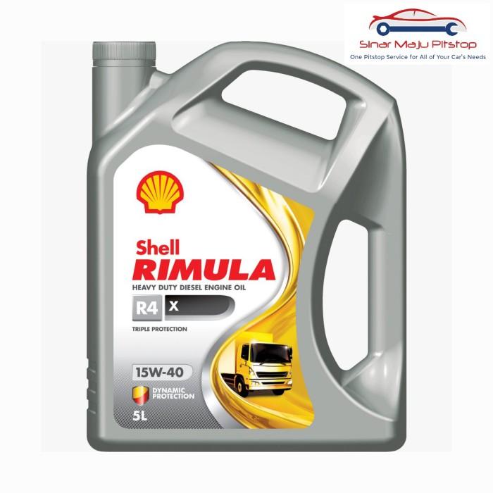 harga Shell rimula r4x 15w-40 oli mesin mobil diesel / truk / pickup / box Tokopedia.com