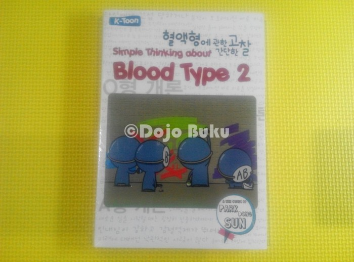 Foto Produk Simple Thinking About blood Type 2 Diskon dari 5and1 shop