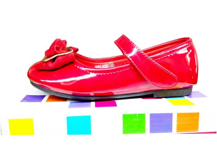harga Sepatu cantik fladeo anak - merah Tokopedia.com