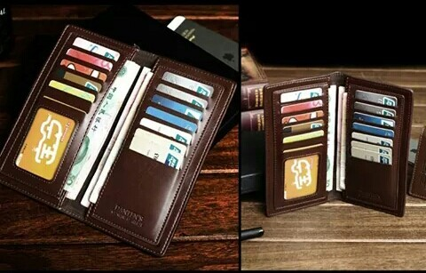 Dompet pria curewe kerien import, coffee