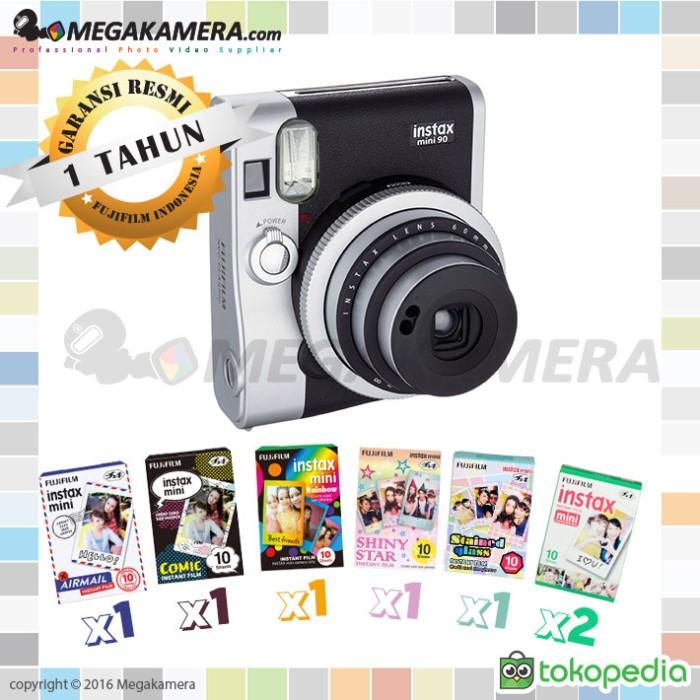 Jual Fujifilm Instax Mini Neo 90 Black Cek Harga Di Pricearea Com