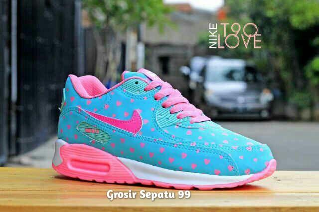 Sepatu Nike Airmax T90 Love Women Untuk Wanita dan Anak Perempuan b48e3406d2