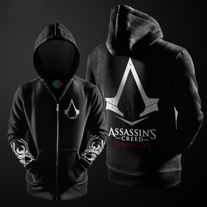 harga Zipper hoodie / jaket assassins creed syndicate Tokopedia.com