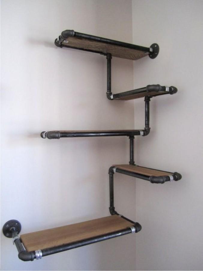 retro industrial furniture. wonderful retro rak besi hitam retro industrial furniture free ongkir u0026 pemasangan  on industrial furniture