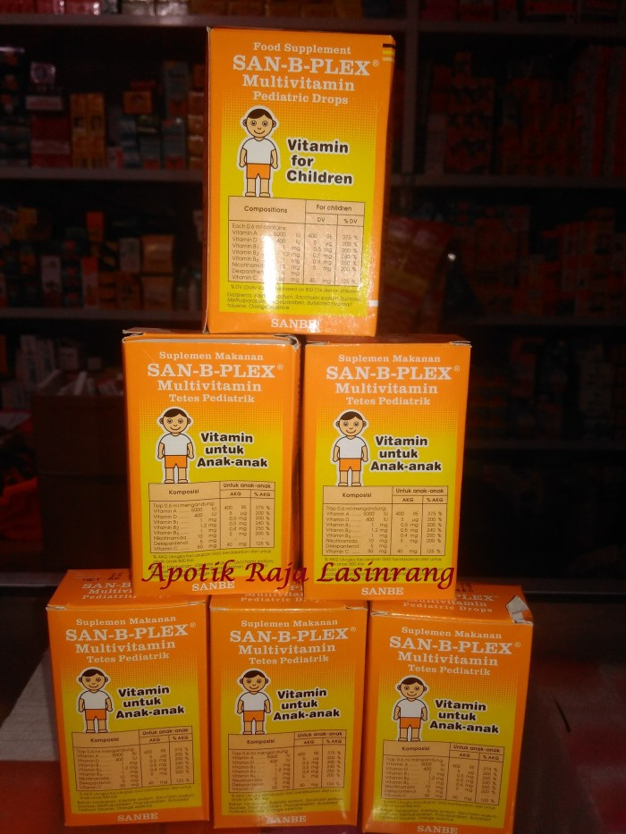 Jual SAN-B-PLEX   San b Plex   suplemen makanan untuk bayi   - Raja ... f770e481bc
