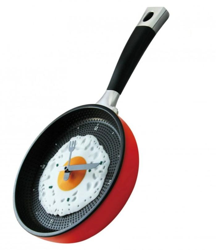 harga Frying pan wall clock - jam dinding bentuk teflon olb1262 Tokopedia.com