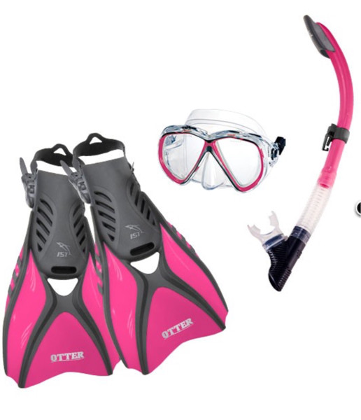 harga Alat snorkling paket fin open heel kacamata snorkel tas jaring Tokopedia.com