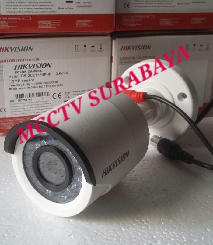 Foto Produk HikVision CCTV Analog 1.3MP DS-2CE15F4P-IR / CCTV Hikvision Outdoor dari mcctv surabaya