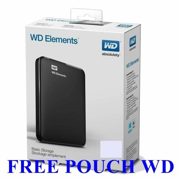 harga Wd Elements 1tb 2.5inch Free Pouch Tokopedia.com