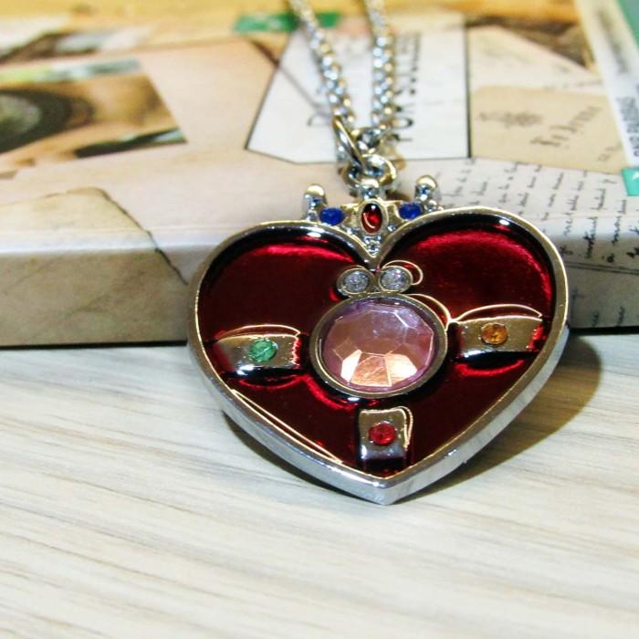 harga Kalung liontin cosmic heart   sailor moon deluxe Tokopedia.com