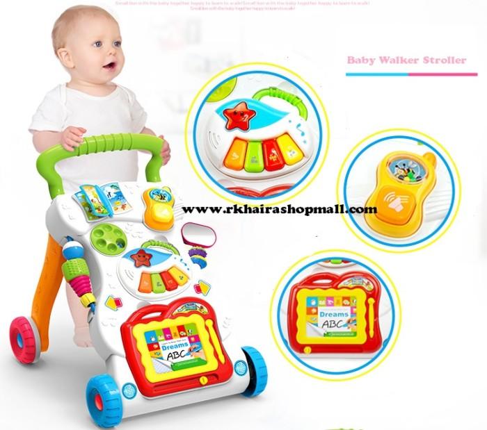 harga Baby walker stroller / mainan bantu anak belajar berjalan Tokopedia.com