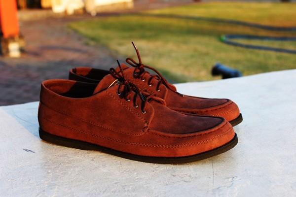 harga Sepatu kulit suede handmade casual pria murah gaya - jack maikor brown Tokopedia.com