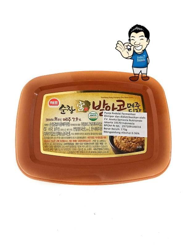 Sajo doenjang pasta kedelai/ tauco korea/ soybean pasta 170 g
