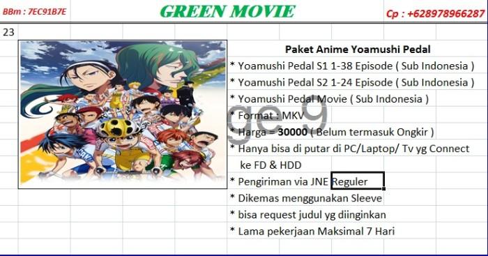 Anime Jepang Yoamushi Pedal Full Episode