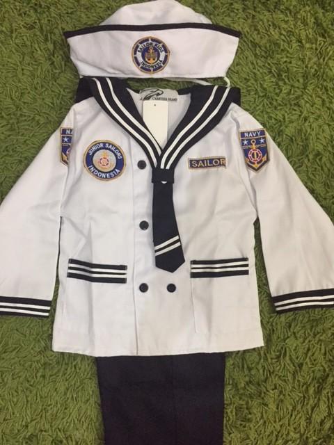 harga Baju Profesi Anak Popeye / Sailor Junior - Size M Tokopedia.com