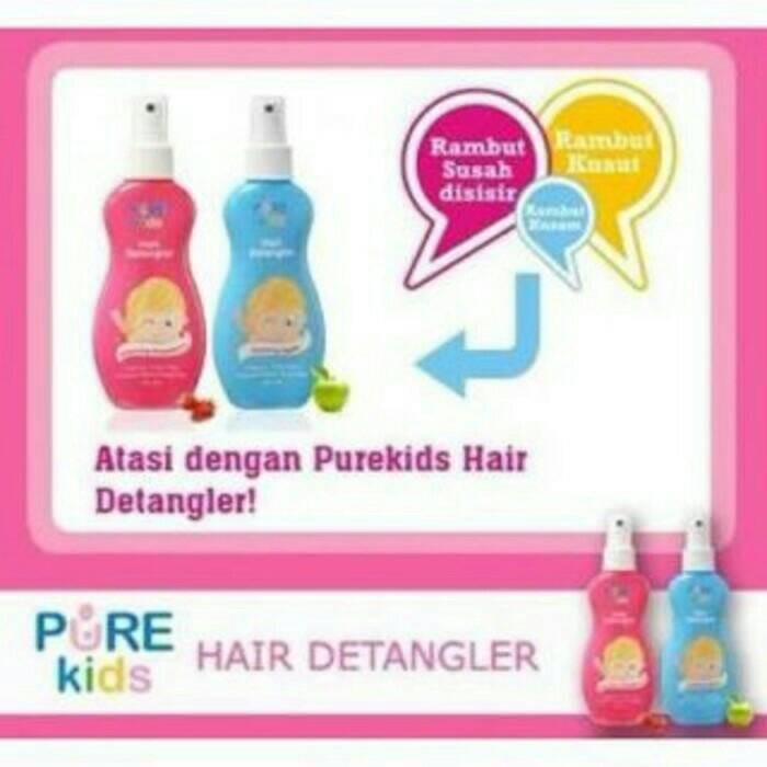 harga Pure kids hair detangler ada 2 varian Tokopedia.com