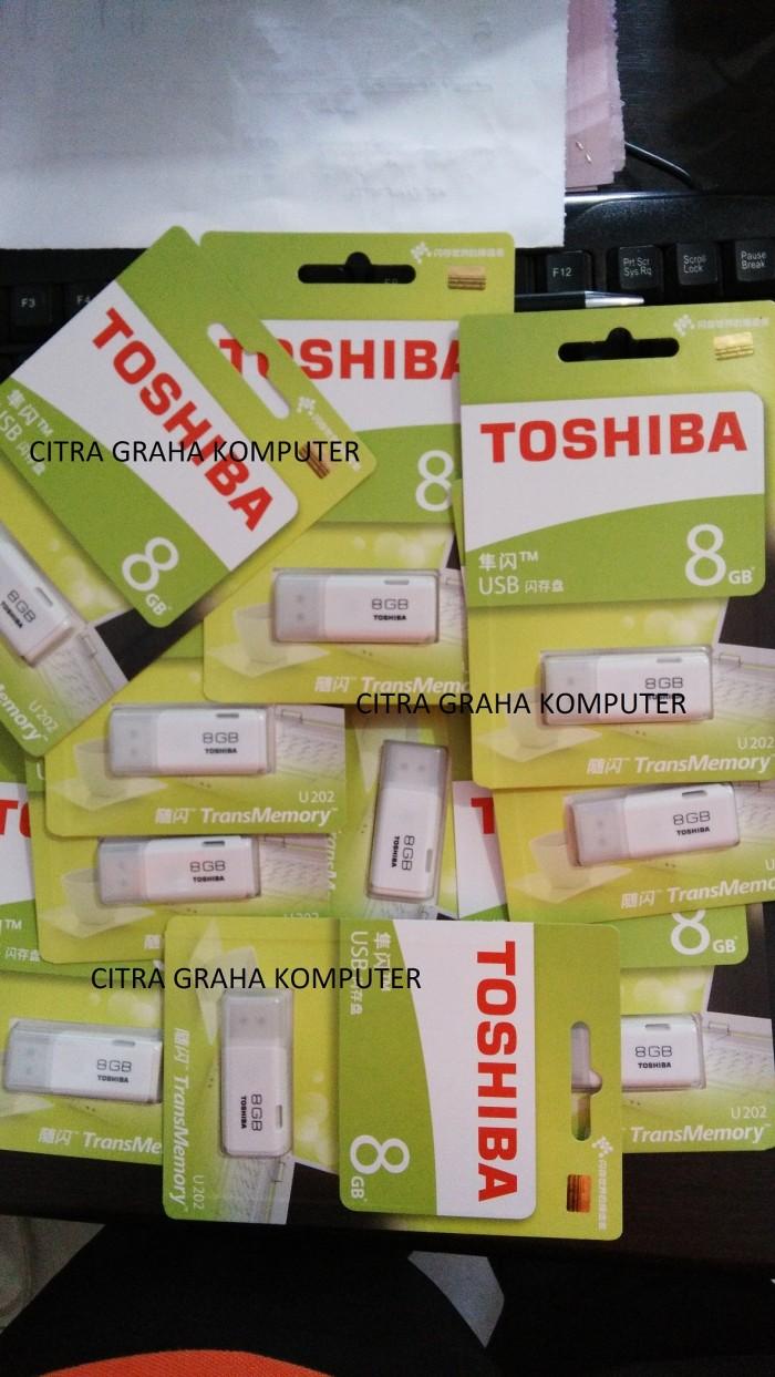 Jual Flashdisk Toshiba 8gb Original Citra Graha Komputer Tokopedia 8 Gb