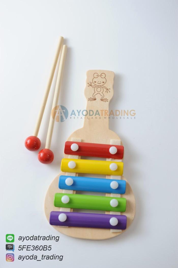 Mainan edukatif edukasi alat musik balita xylophone