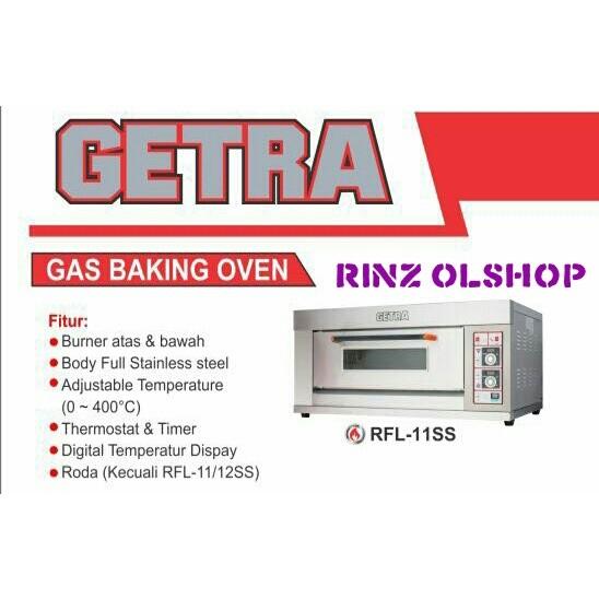 harga Gas baking oven getra rfl-11ss/ oven roti gas 1loyang / murah Tokopedia.com