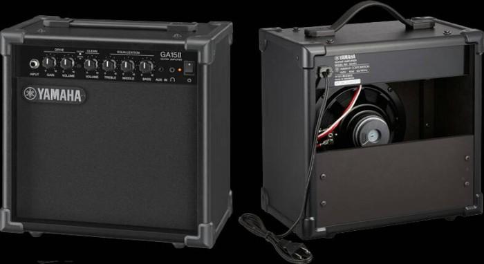 Jual yamaha guitar amplifier ga15ii ga 15 ii hcs music for Yamaha albany ga