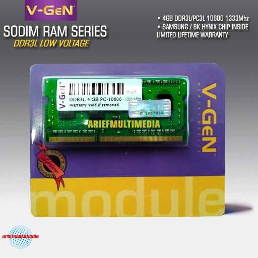 Jual RAM Laptop DDR3L 4GB PC 10600 PC 12800 GARANSI