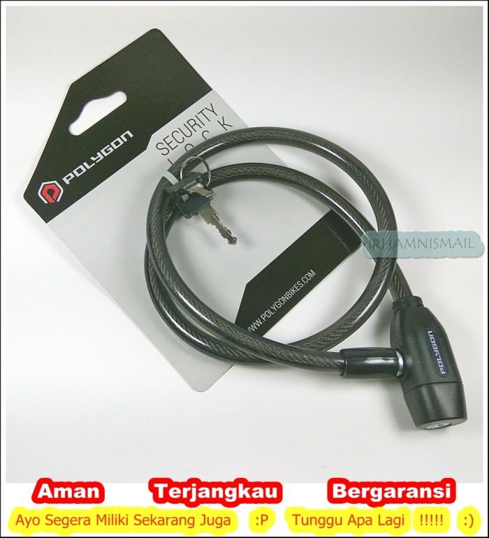 harga Gembok kunci ganda polygon security lock sepeda Tokopedia.com