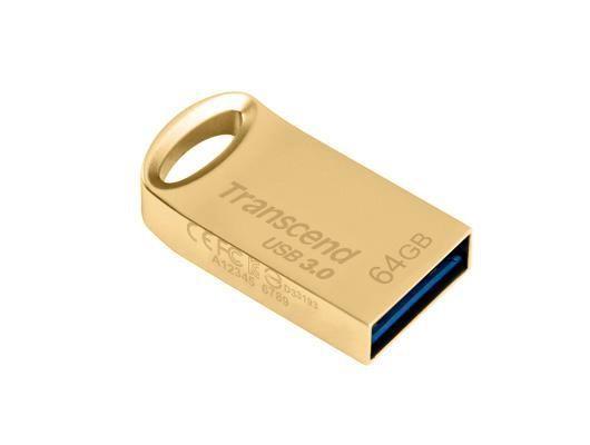 Flashdisk transcend usb 3.0 jetflash 710 gold 64gb