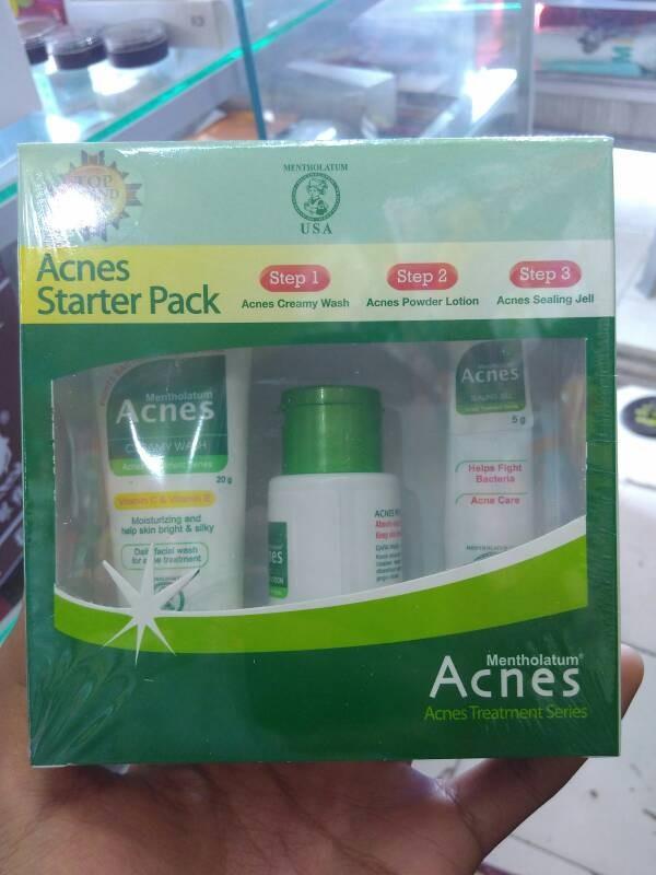 ACNES Starter Pack (Merawat Kulit Berjerawat)