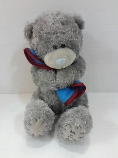 Boneka bear me to you pegang selimut merah import 17 cm