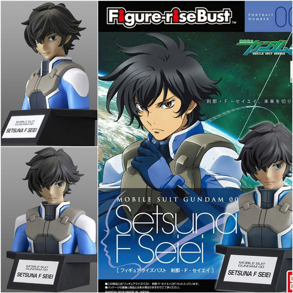 Jual Bandai Figure Rise Bust Setsuna F Seiei Gundam 00 Series Kota Bandung Kaoshero Tokopedia