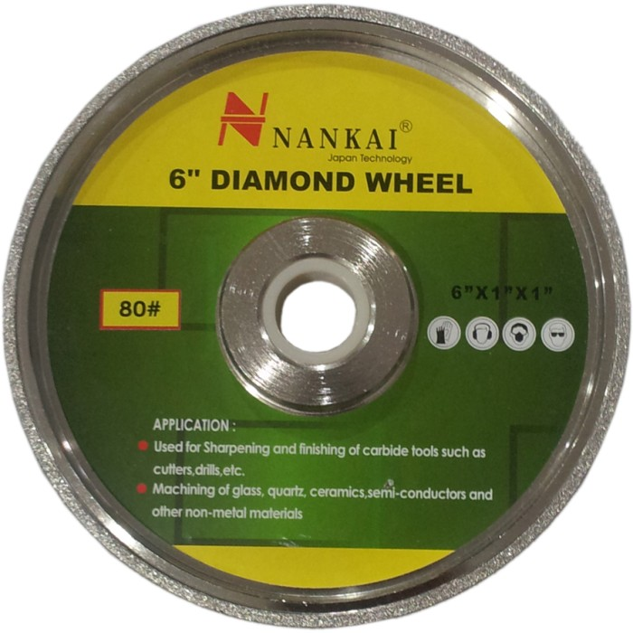 nankai batu poles akik diamond wheel 6  #150