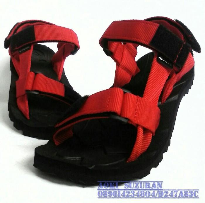 harga Sandal gunung suzuran slop x black red 1 Tokopedia.com
