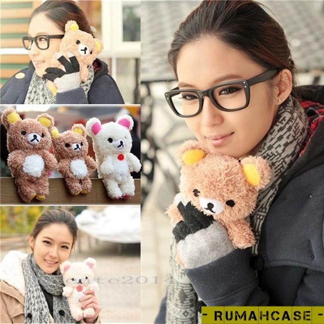 harga Iphone 5 5s 5c 5g se - teddy bear case boneka 3d karakter lucu imut Tokopedia.com