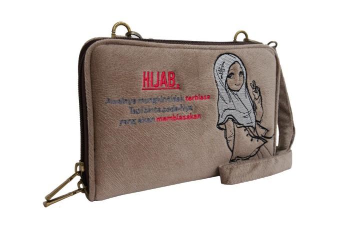 Jual Tas Selempang Wanita Handbag   Dompet Organizer HP GPO Muslim ... 91462ca613