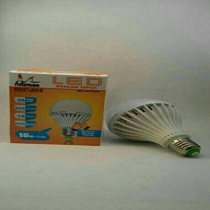 Foto Produk lampu bohlam led sensor suara 15watt / lampu tepuk 15 watt dari larisomart