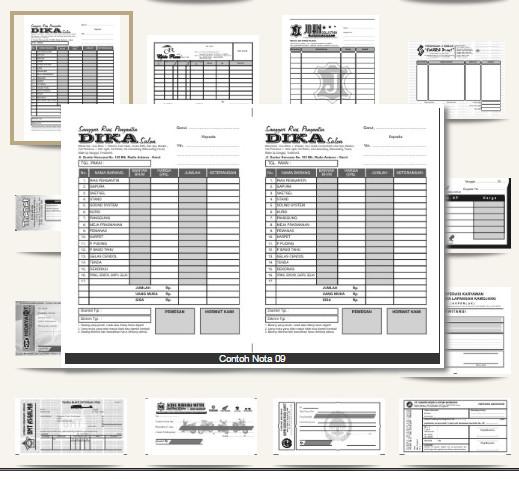 Jual Desain Nota Kwitansi Kab Serdang Bedagai Beedesign6969 Tokopedia