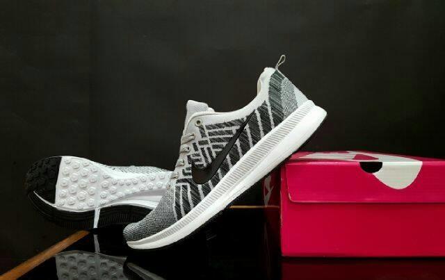 Harga Import Sepatu Kuliah Casual Santai Pria Premium Nike Flyknit Tokopedia