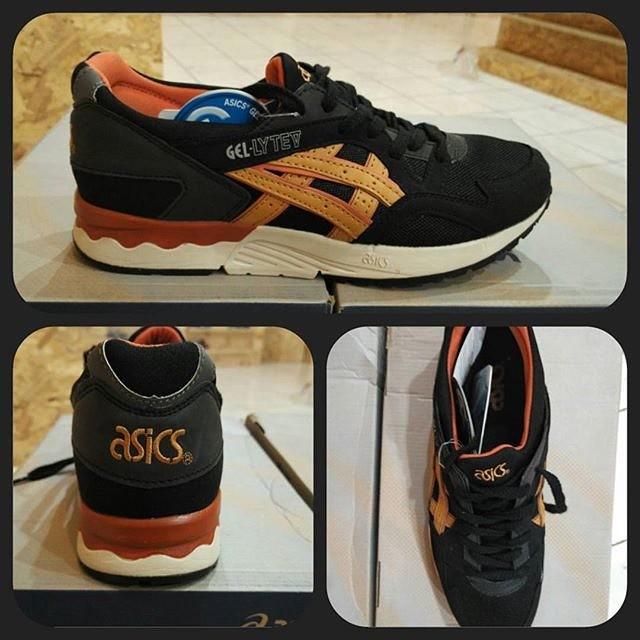 ... sweden sepatu asics gel lyte v black tan replika import 1ad8e 8d91e 6e42e31790