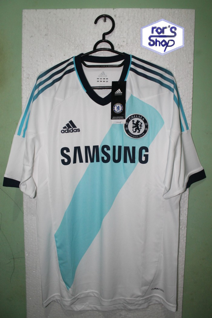 sale retailer 68016 9a88a Jual ORIGINAL JERSEY CHELSEA FC AWAY 12/13 SHORT SLEVE - ror's shop |  Tokopedia