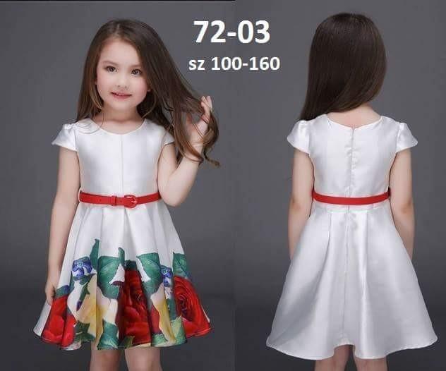 Foto Produk Dress Mitun Rose Big + Belt dari Zianka Kids Shop