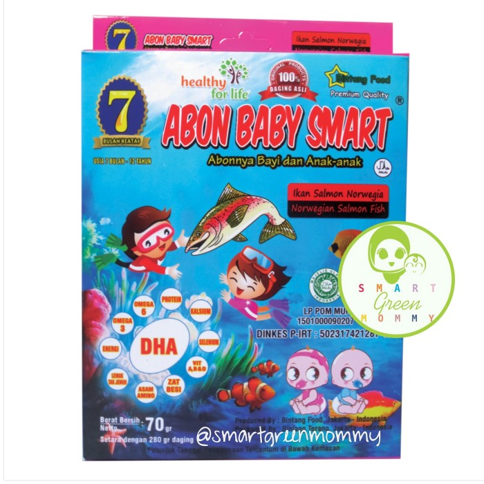 harga Abon baby smart salmon Tokopedia.com